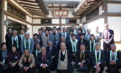 妙心寺へ団体参拝