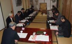 松禪寺評議員総会